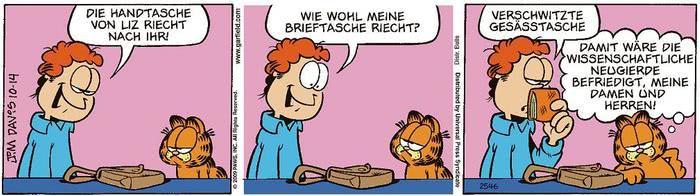 Garfield vom 16.03.2021
