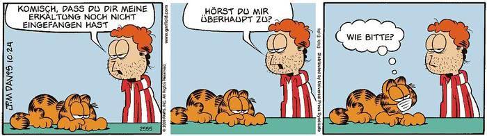 Garfield vom 29.03.2021