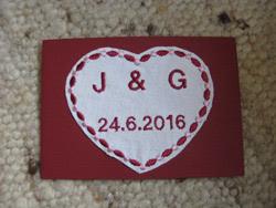 Hochzeit Jacqueline & Giuseppe 2016 - Bild  1